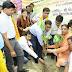 हिंदी युवा वाहिनी ने पर्यावरण दिवस पर कराया वृक्षारोपण