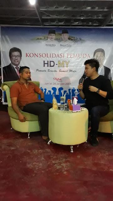 HD-MY Akan Beri Ruang Untuk Pemuda