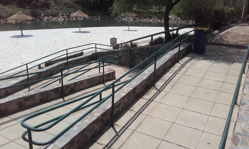 Acesso pessoas com mobilidade reduzida á Praia Fluvial de Alcoutim