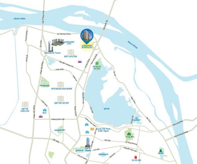 Bán chung cư Sunshinr Riverside Nhật Tân Tây Hồ
