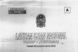SOAL TPM KOTA YOGYAKARTA TAHAP 2 IPA (18-19 Maret 2015)