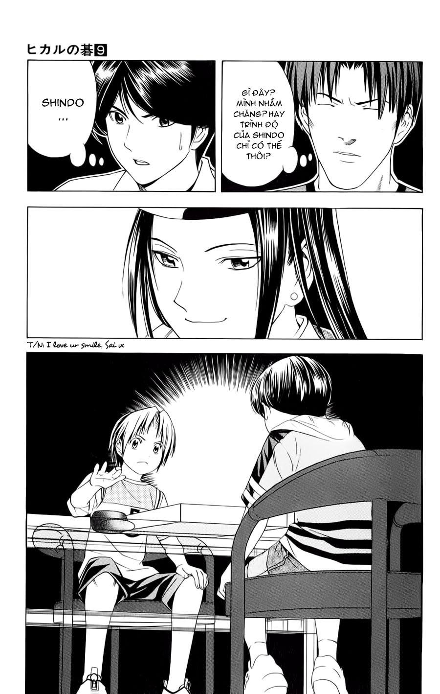 Hikaru No Go hikaru no go chap 75 trang 21
