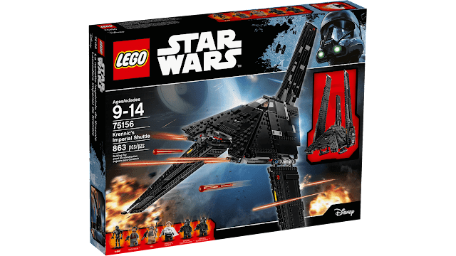 Lanzadera Imperial de Krennic - LEGO STAR WARS