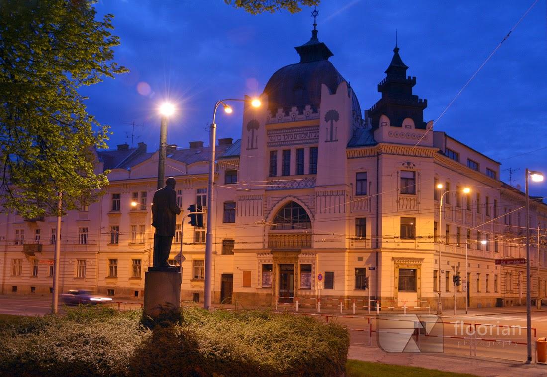 Synagoga w Hradec Králové. Atrakcja turystyczna Czech