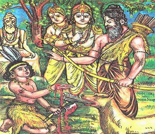 8. गुरुभक्त एकलव्य (Guru bhakt Eklavya)
