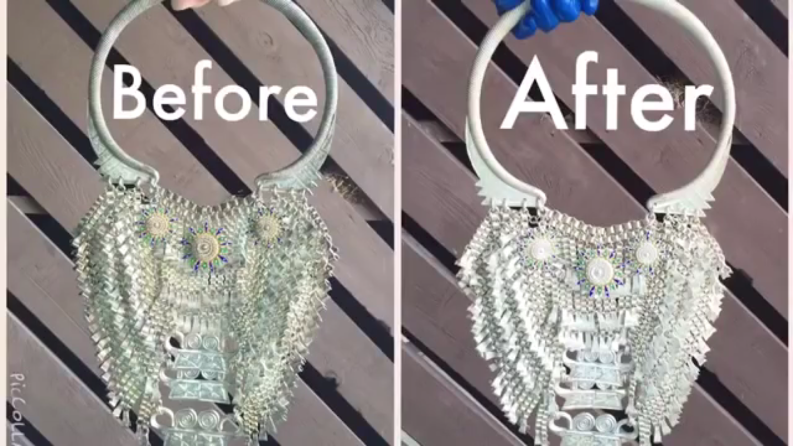 HMONG CREATIONS: How to clean Hmong Necklaces Xauv Paug