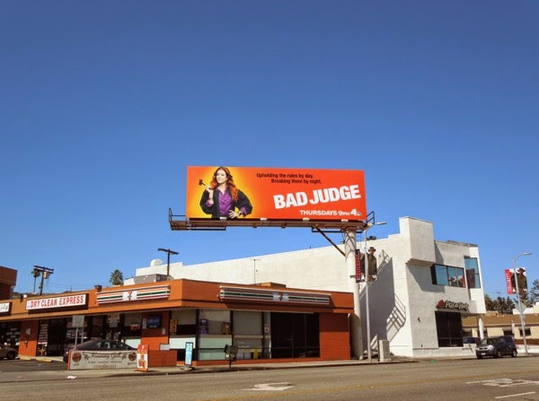 Bad Judge NBC billboard
