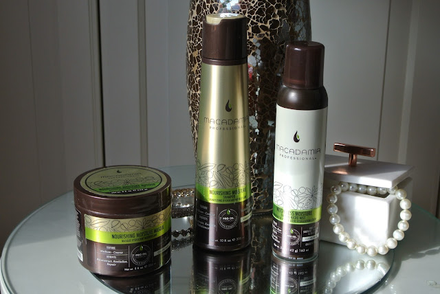 Macadamia Professional Nourishing Moisture Shampoo, Masque and Weightless Moisture Dry Micro Mist Review Image