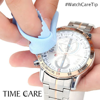 cara membersihkan jam tangan dengan bahan alami