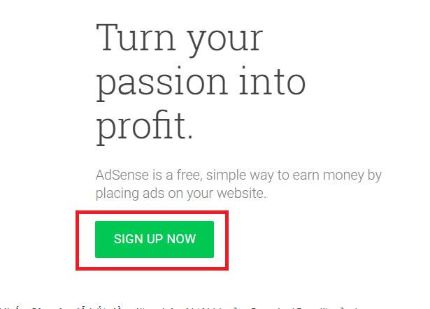 Hướng dẫn đăng ký google adsense