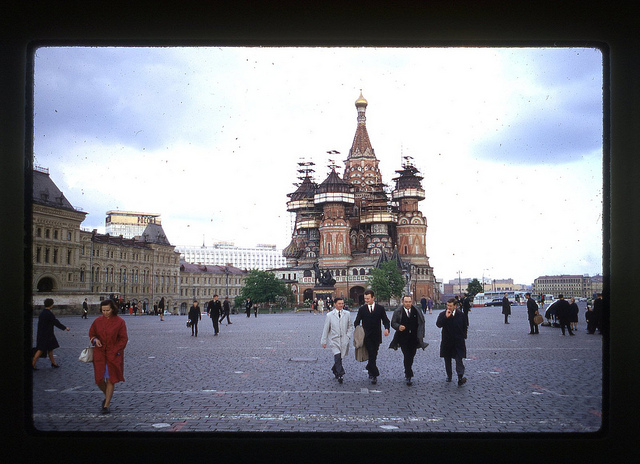 Color Photos Of Moscow In Spring Of 1969 Vintage Everyday