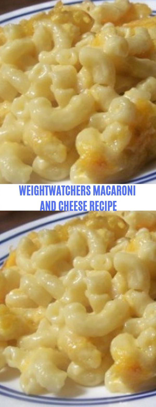 WEIGHTWATCHERS MACARONI AND CHEESE RECIPE