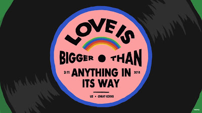 U2 , Cheat Codes - Love Is Bigger Than Anything In Its Way (#Official #Lyric #Video)