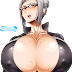 Tags: Render, Bodysuit, Cleavage, Erect nipples, Hair bun, Huge Breasts, Large Breasts, Megane, Prison School, Shiraki Meiko, Silver hair