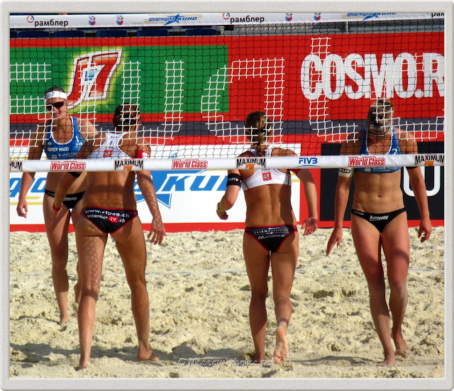 Beach Volley Change Sides