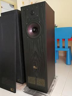 Legendary EPOS ES14 TDL Studio 1M speakers
