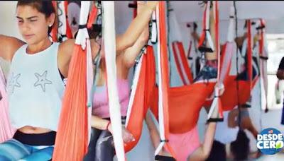 yoga aereo, aeroyoga, aeropilates, pilates aereo, yoga aerea, formacion, certificacion, teacher training, tendencias, belleza, television, medios, rafael martinez, prensa