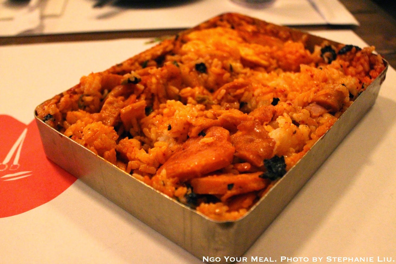 Dosirak (Korean Lunchbox). You shake up the contents so that all the insides get mixed together. At Take31.