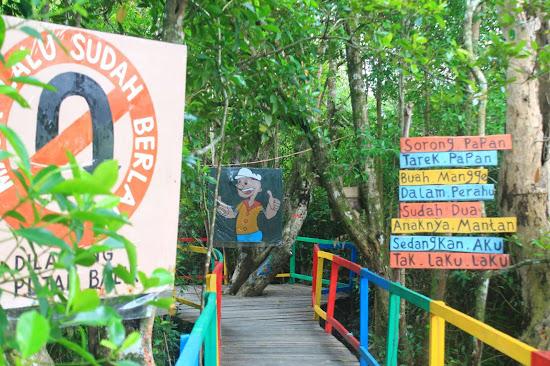 Pemandangan Mangrove Park bakau Besar 6 - Catatan Nizwar ID