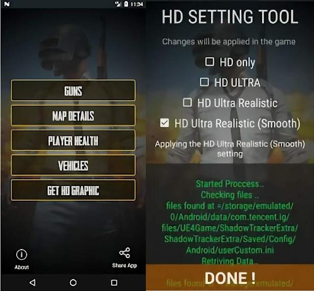 Guide for PUBG Mobile - Aplikasi Grafik HD Untuk PUBG Mobile