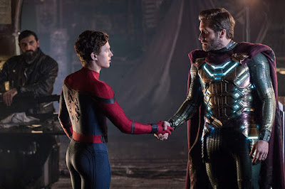 Spider Man Far From Home Jake Gyllenhaal Tom Holland Image 2