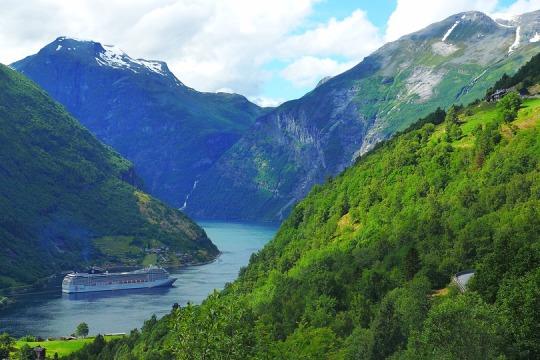 Geirangerfjord, Norwegia
