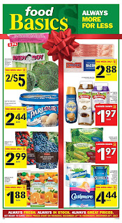 Food Basics Weekly Flyer December 14 – 20, 2017