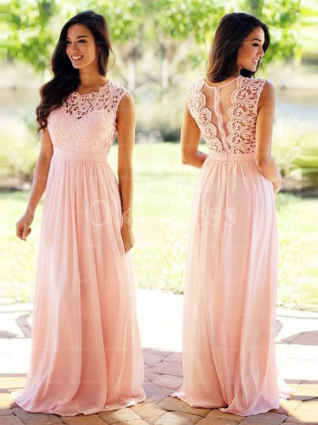 Natural Prom Dress
