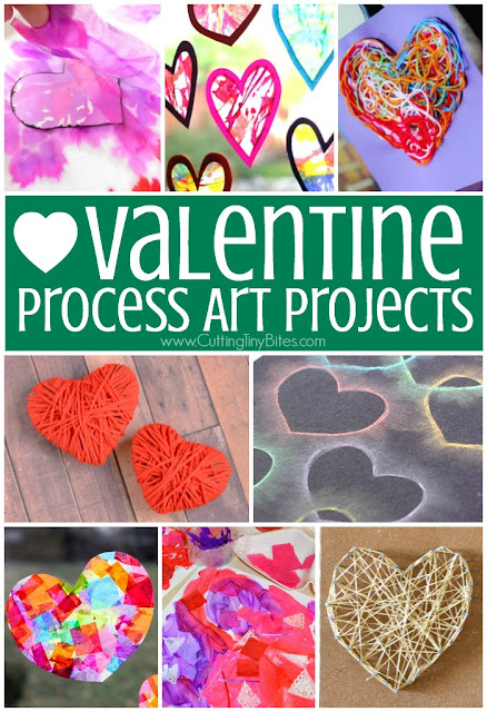 Valentine S Day Process Art Activities What Can We Do With Paper