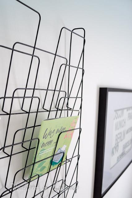 An meiner Wand: Kartenhalter aus Metall
