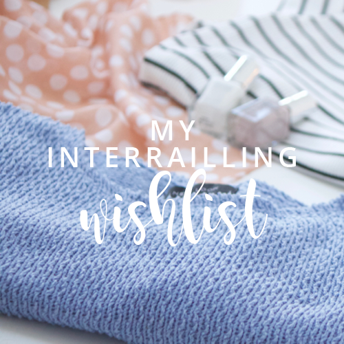 Interrailing wishlist