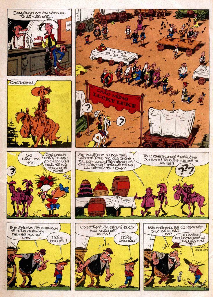 Lucky Luke tap 3 - doan lu hanh trang 3