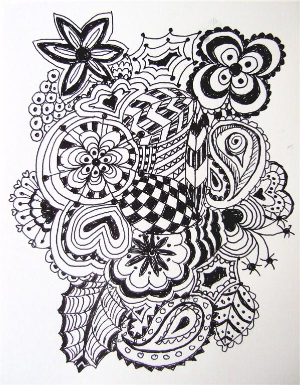 Schöne Muster Zum Zeichnen Bunt Hylenmaddawardscom
