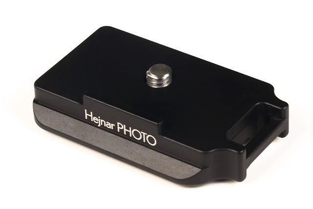 Hejnar D034 QR plate for Fujifilm X-T2 - top front