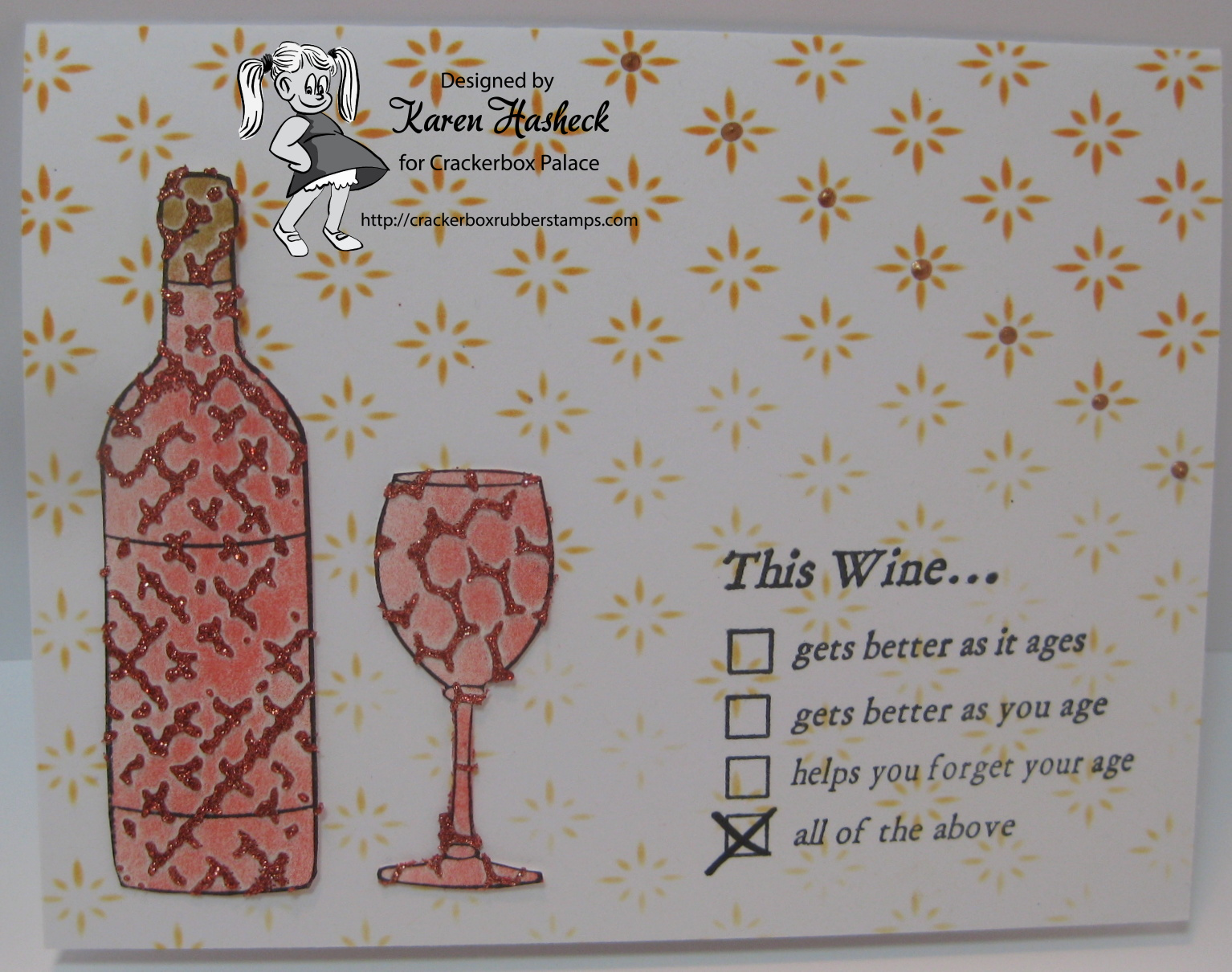 Happy Birthday Wine Lovers Card From Crackerbox Palace