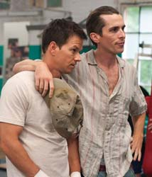 Mark Wahlberg e Christian Bale