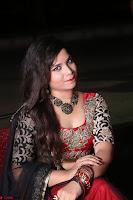 Sirisha Dasari in Red Ghagra Backless Choli ~  045.JPG