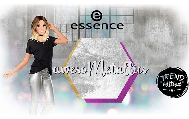 Colección awesoMETALLICS de Essence