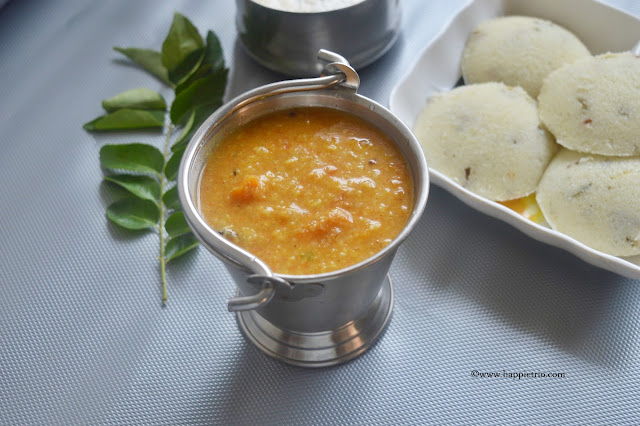 how to make tiffin sambar