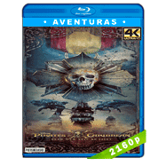 Piratas del Caribe: La venganza de Salazar (2017) 4K UHD Audio Dual Latino-Ingles