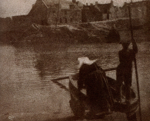 """The Ferry, Concarneau"", a photograph by Mary Devens, c1904, Camera Work, No 7, 1904"