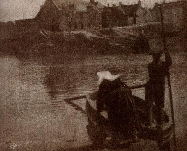 """The Ferry, Concarneau"", a photograph by Mary Devens, c1904, Camera Work, No 7, 1904"