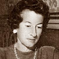 La ajedrecista María Luisa Gutiérrez Blanco