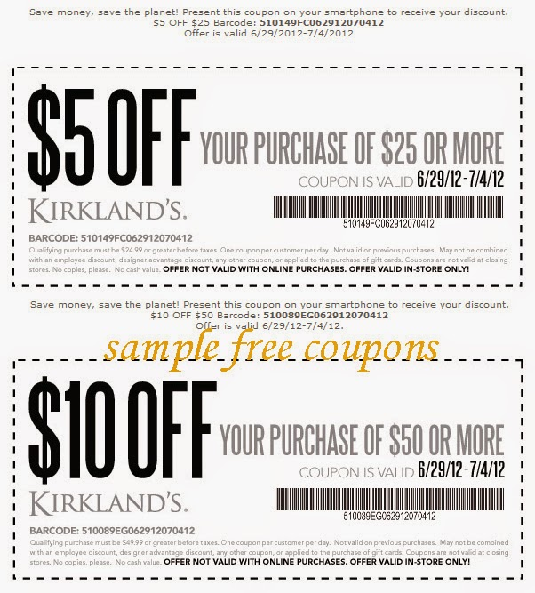 Discount Homegoods: $10 Kirklands Coupon This Is New Expired On May 26, 2014