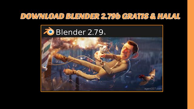 Download Blender V2.79b Gratis & Halal | Software 3D CAD