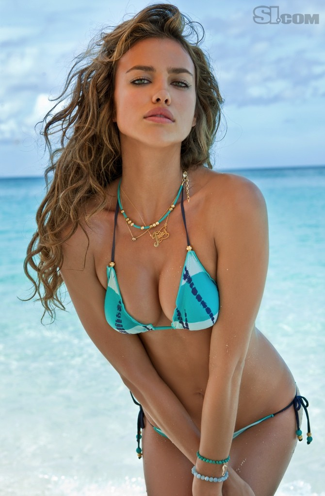 Irina Shayk La Senza Lingerie 2011: Irina Shayk (Sports Illustrated Swimsuit Photoshoot 2011
