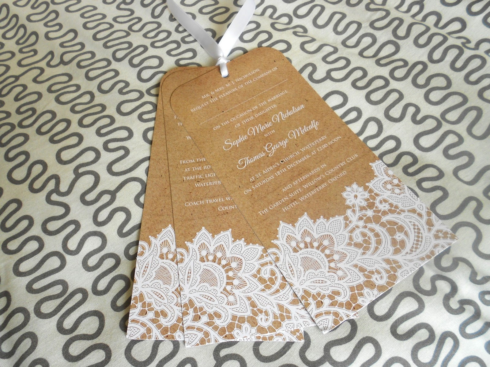 Lace Themed Wedding Invitations: The2BEAUTYBLOGGERS: Paper Themes Vintage Invitations