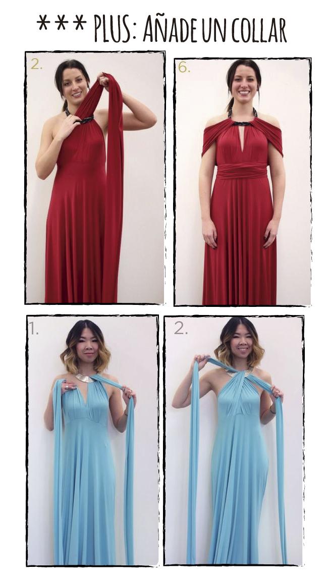 Dare To Diy Diy Fácil Cómo Hacer Un Vestido Multiposición