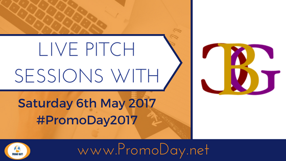 Pitch Sessions With Champagne Book Group (CBG) #PromoDay2017