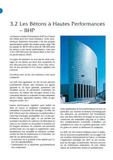 Les Bétons à Hautes Performances – BHP pdf